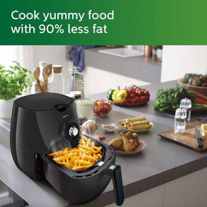 Philips HD9216/43 Air Fryer, uses up to 90% Less Fat, and 1.8 m Retractable Cord Air Fryer  (1.2 L)