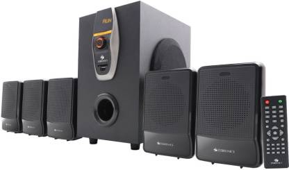 Zebronics ZEB-BT6860RUCF 5.1 MULTIMEDIA SPEAKERS Home Theatre  (Black, 5.1 Channel)
