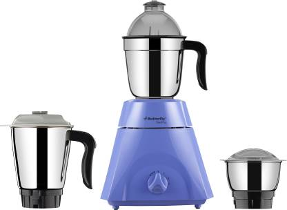 Butterfly Grand Plus 750 W Mixer Grinder  (Blue, 3 Jars) - IndiaCliq