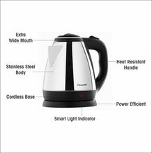 Load image into Gallery viewer, Butterfly EKN Electric Kettle  (1.8 L, Black) - IndiaCliq