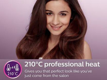 Load image into Gallery viewer, Philips BHS386 BHS 386 KeraShine Protection Hair Straightener  (Purple) - IndiaCliq