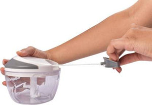 Master Vegetable Chopper SS 3 Blades + Small Size White Grey - IndiaCliq