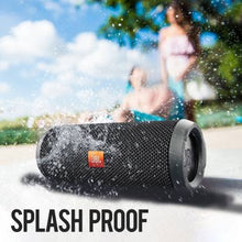 Load image into Gallery viewer, JBL Flip 3 Splashproof 16 W Portable Bluetooth Speaker  (Black, Stereo Channel) - IndiaCliq