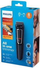 Load image into Gallery viewer, Philips MG3730/15 Runtime: 60 min Grooming Kit for Men  (Black)