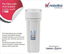 Load image into Gallery viewer, Nasaka Tulip A2 8L RO + UF Water Purifier  (White) - IndiaCliq