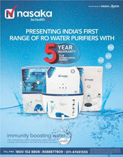 Load image into Gallery viewer, Nasaka Tulip A1 8 L RO Water Purifier with OrpH+ technology - IndiaCliq