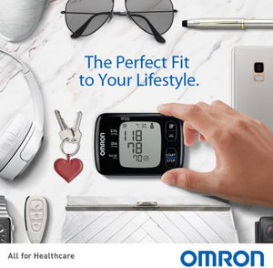 Omron HEM-6232T HEM-6232T Bp Monitor  (Black)