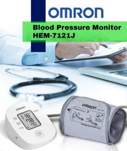 Load image into Gallery viewer, Omron HEM-7121J BP Monitor(White)