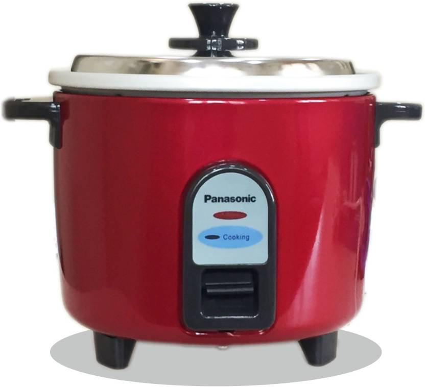 Panasonic SR-WA10(GE9) Electric Rice Cooker  (2.7 L, Burgandy) - IndiaCliq