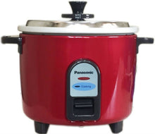 Load image into Gallery viewer, Panasonic SR-WA10(GE9) Electric Rice Cooker  (2.7 L, Burgandy) - IndiaCliq