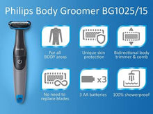 Load image into Gallery viewer, Philips BG1025/15 Runtime: 45 min Trimmer for Men  (Black) - IndiaCliq