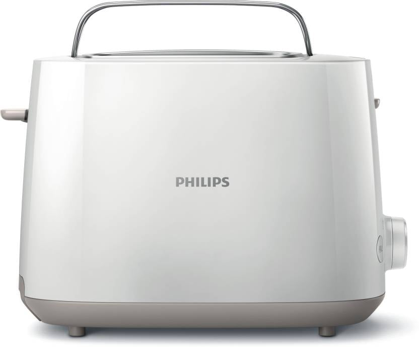 Philips HD2582/00 830 W Pop Up Toaster  (White) - IndiaCliq