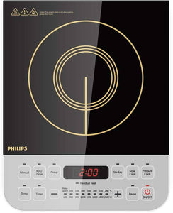Philips HD4928/01 Induction Cooktop  (Black, Push Button)-Open box
