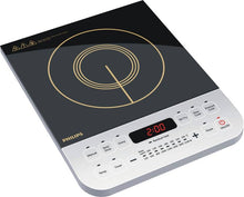 Load image into Gallery viewer, Philips HD4928/01 Induction Cooktop  (Black, Push Button)-Open box