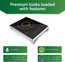 Load image into Gallery viewer, Philips HD4938/01 Induction Cooktop  (Black, Touch Panel) - IndiaCliq