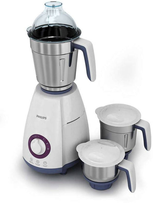 Philips HL7699/00 750-Watt Mixer Grinder (White/Grey) - IndiaCliq