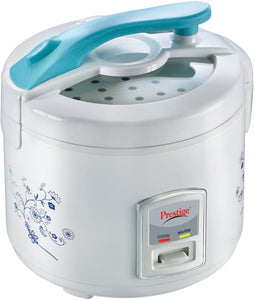 Prestige 42200 Electric Rice Cooker with Steaming Feature  (1.8 L, White)