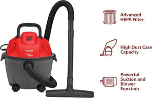Prestige Cleanhome Typhoon05 Wet & Dry Vacuum Cleaner  (Red)