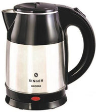 Load image into Gallery viewer, Singer Aroma(SKT 180 ASE) Electric Kettle  (1.8 L, Silver, Black)