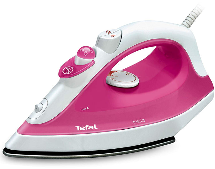 Tefal Inicio Steam Iron  (Pink)