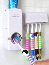 Load image into Gallery viewer, German Chef Toothpaste Dispenser with Toothbrush Holder - IndiaCliq