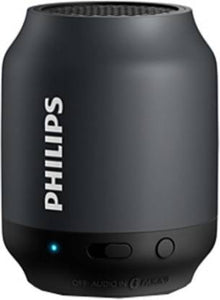 Philips BT50 2 W Portable Bluetooth Speaker  (Black, Mono Channel) - IndiaCliq