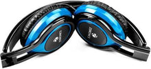Load image into Gallery viewer, Zebronics ZEB-BUZZ Wired Headset with Mic  (Blue, Over the Ear)