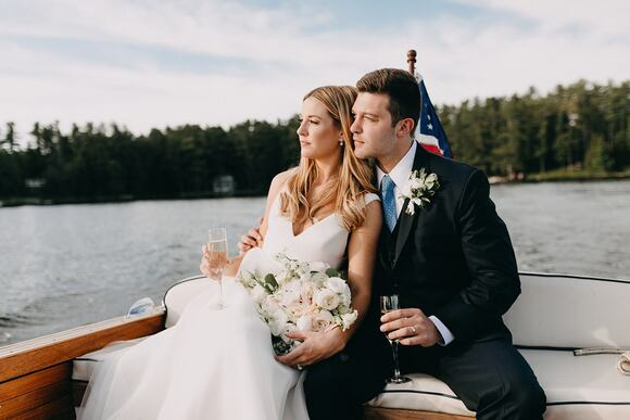 Lauren & Zach; Lake Sebago Maine