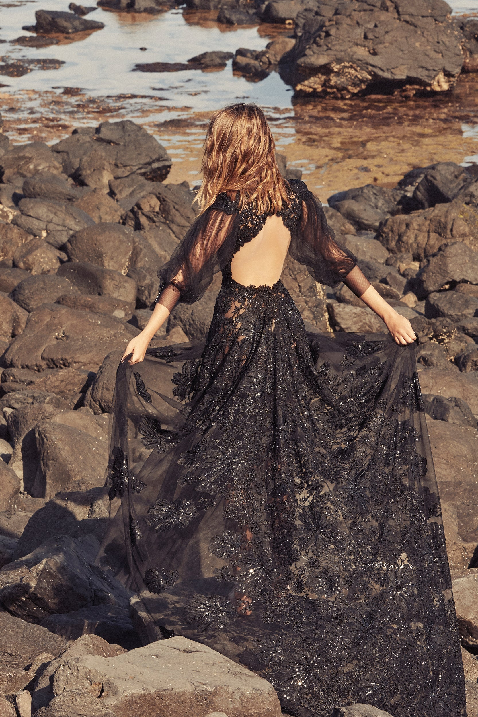 BLACK ONYX GOWN