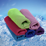 Microfiber Sport Towel Rapid Cooling Ice Face Towel Quick-Dry