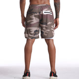 Quick Dry Mens Active Training Sports Shorts With Longer Liner & Breathable Material, 7 Different Designs