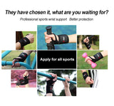 Wrist Brace Thumb Wraps Weightlifting Support