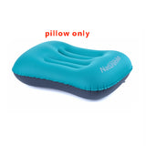 Inflatable Outdoor Camping Pillow Ultralight Travel Pillows With Pocket Portable Inflation Cushion
