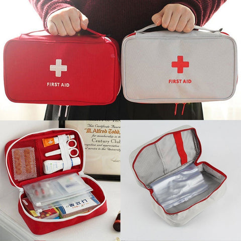 Portable Camping First Aid Emergency Medical Bag Waterproof Car kits