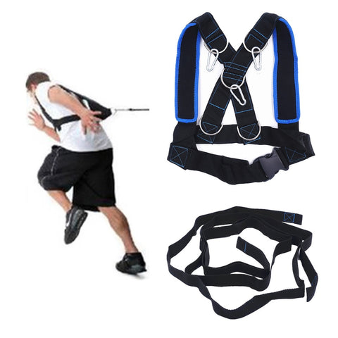 Speed Training Sled Shoulder Harness, Sport Accessories Weight Bearing Vest Body Building Equipment