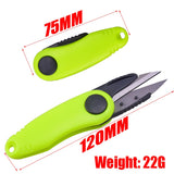 Fishing Line Cutter Clipper Nipper Hook Sharpener Fly Tying Tool