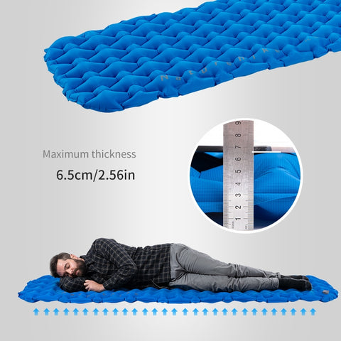 Sleeping Pad Lightweight Moisture-proof Air Mattress Portable Inflatable Mattress Camping Mat