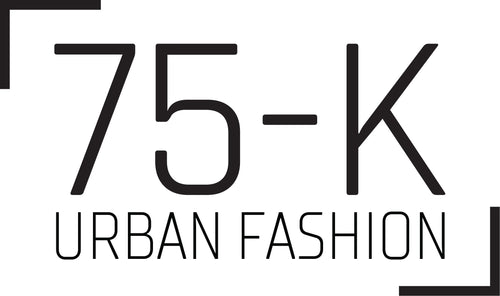 75-k urban fashion black logo
