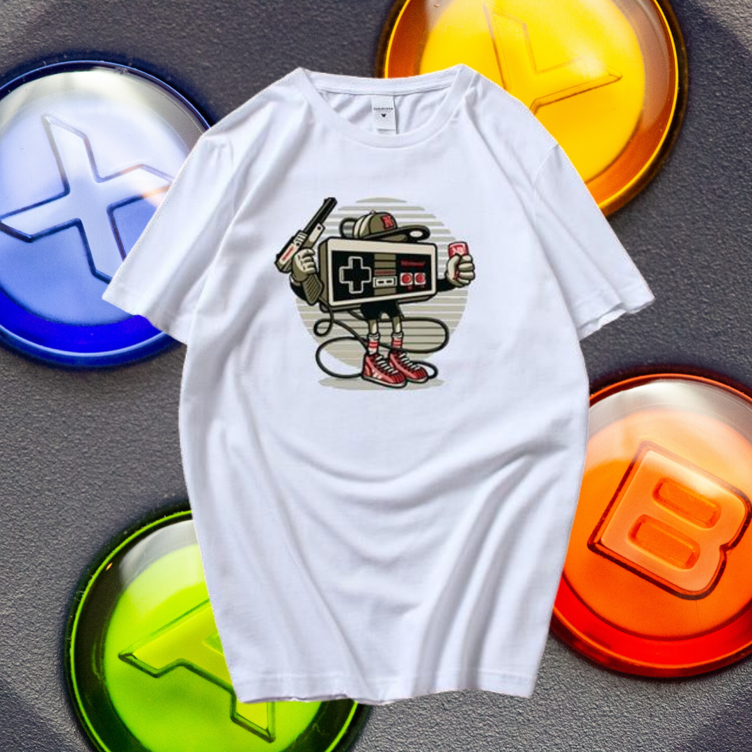 NES Retro Gaming Man T-shirt