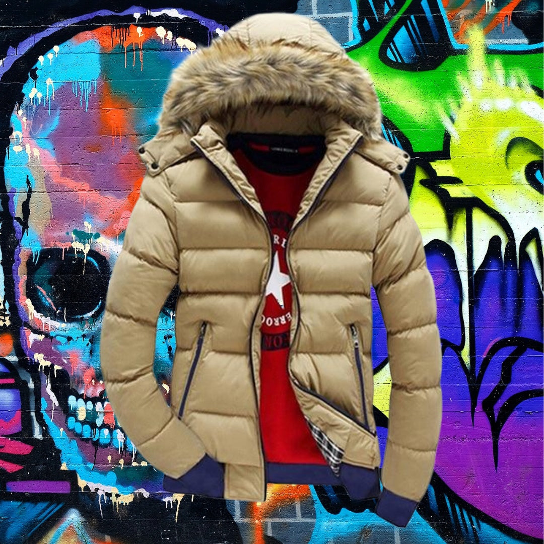 Best Men's Thick Winter Coat for men 75k urban fashion
