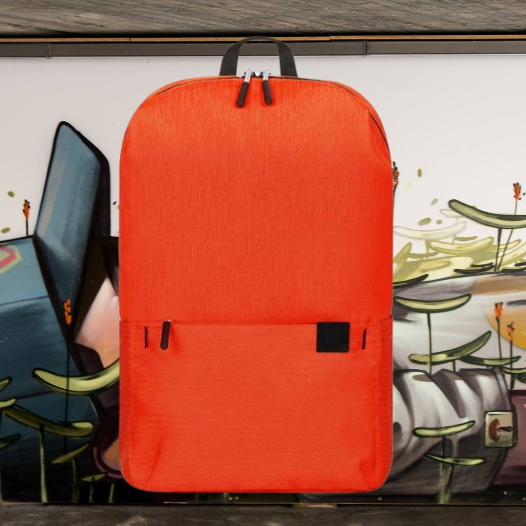 Compact Brightly-Colored Backpack