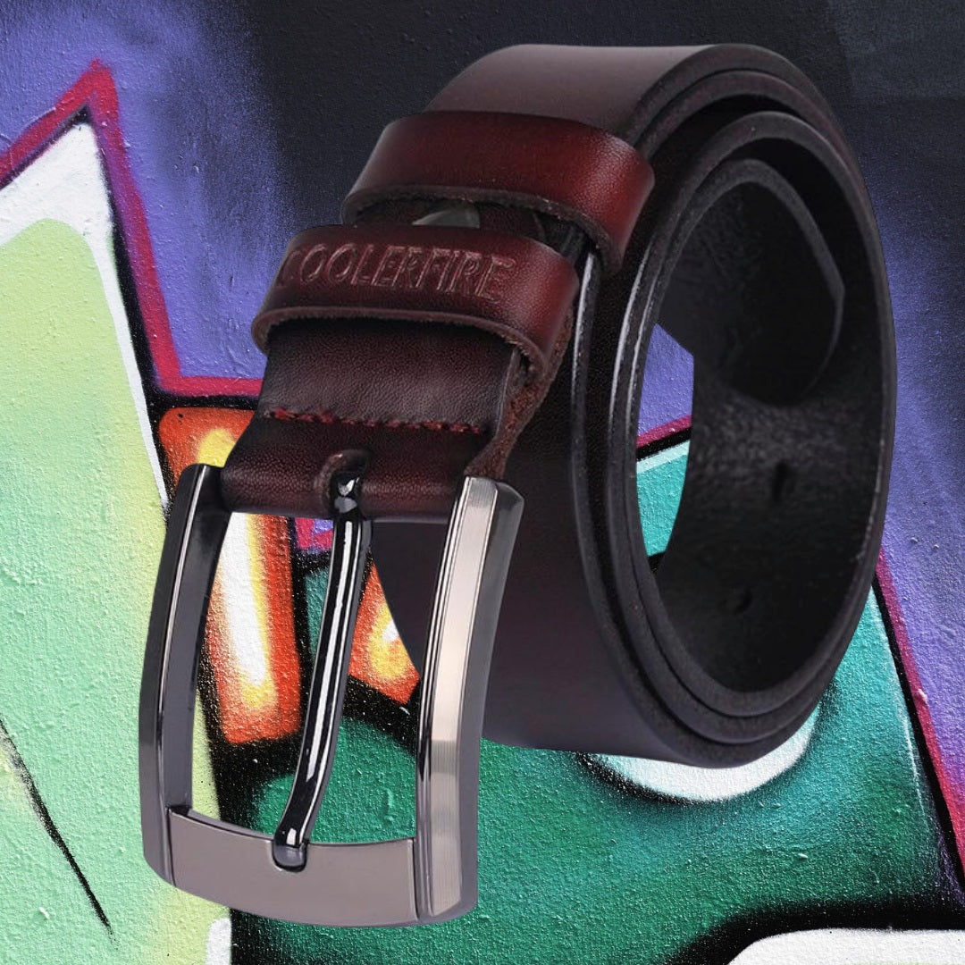 Coolerfire Leather Belt for man 75kurban fashion