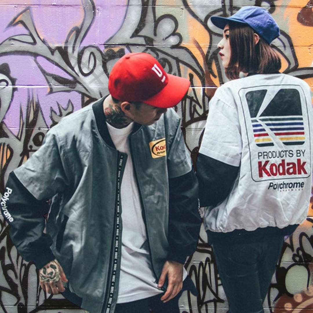 Kodak Old School Hip-Hop Jacket