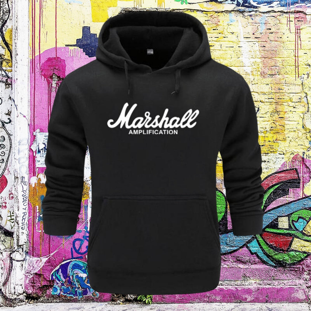 Marshall Amplification Hoodies for men 75k urban fashion