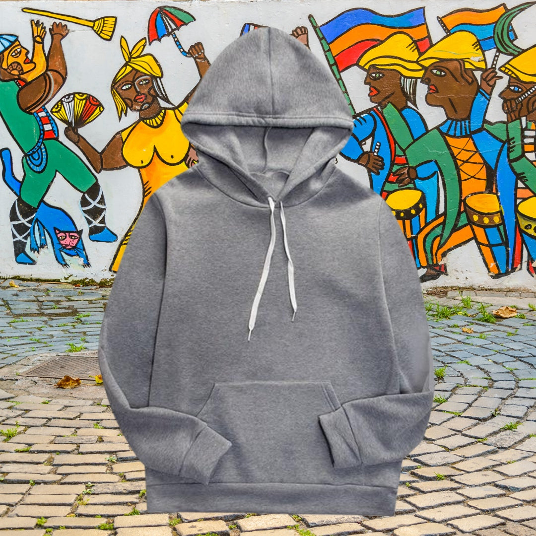 Solid Colored Pullover Hoodies for men 75k urban fashion