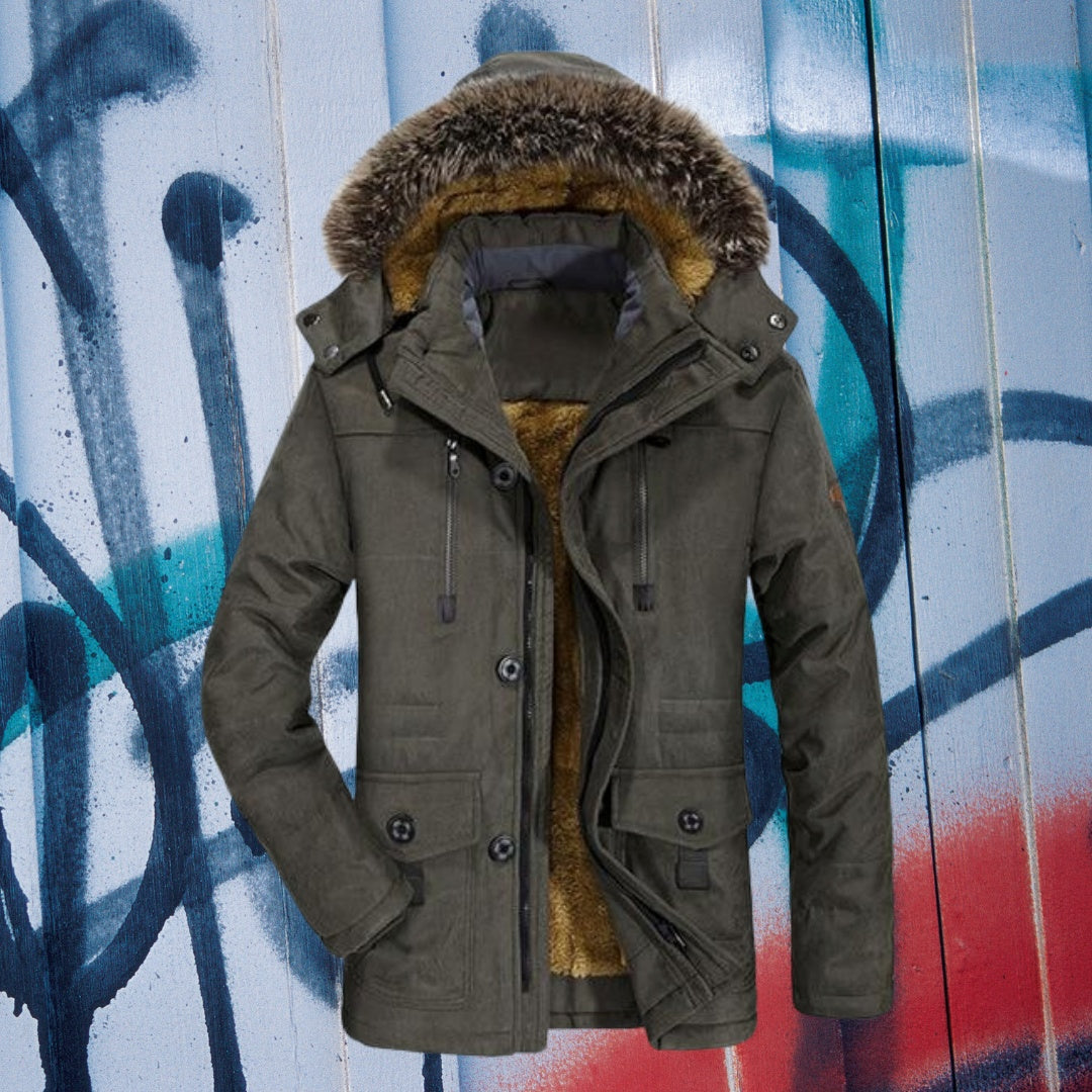Stylish and Durable Parka Coat
