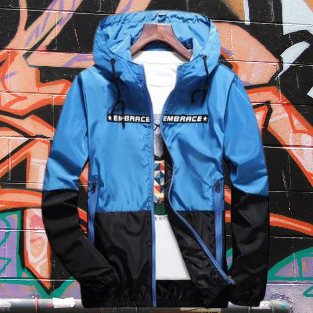 Men's Hip-Hop Windbreaker