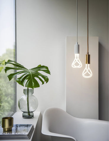 Plumen 001 LED Bulb And Plumen Pendant Set (New)