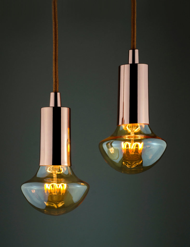 Plumen Pendant and WattNott Willow Dimmable LED Bulb