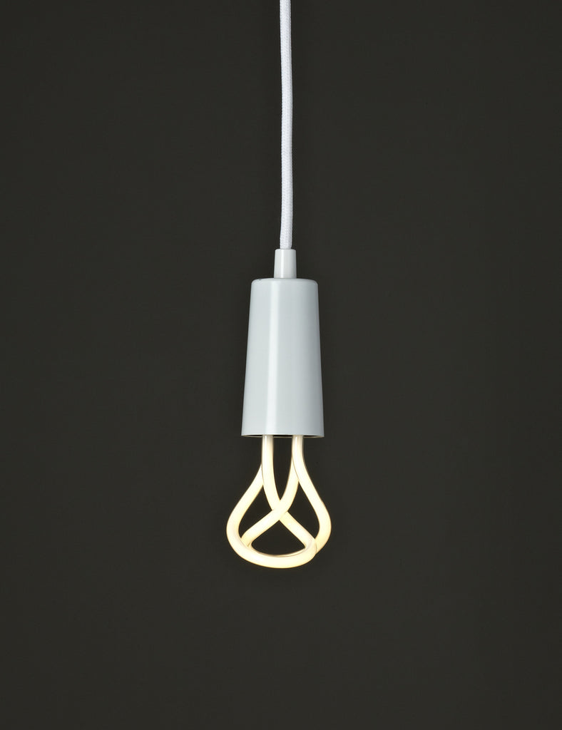 Drop Cap Pendant - White
